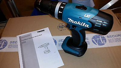 Makita DHP453 LXT 18v Li-ion Cordless Drill  Driver With Hammer. BODY ONLY