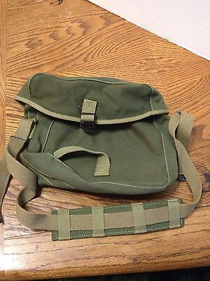 Military Signal Satchel Drab Green Army  Steampunk Backpack