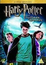 Harry Potter and the Prisoner of Azkaban 2 DVDs