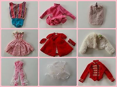 Vintage Barbie Clothing Lot (from 1962 to 1968)