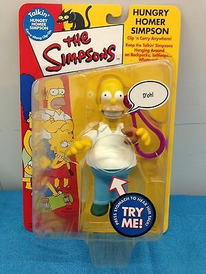 Simpsons Carry Along Clip-on - Hungry Homer Simpson NEW in package