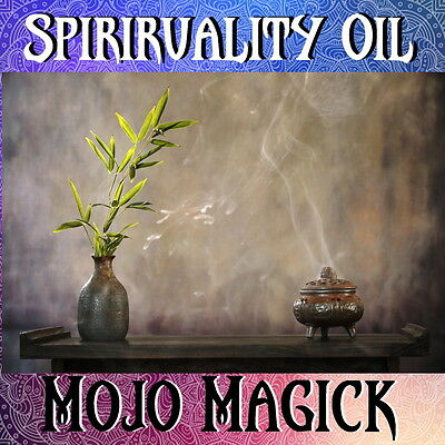 Mojo Magick Spirituality Essential Oil Hoodoo Wicca - Enhance Spiritual Workings