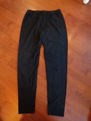 New Look Maternity Black Over Bump Leggings Size Small
