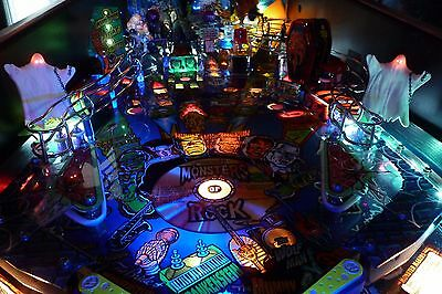 MONSTER BASH Pinball Twin Phantom Ghost Mod Set