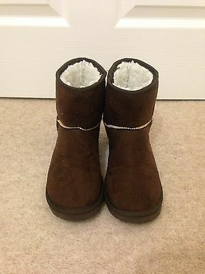 Women's Suede Mid Calf Snow Boots - Coffee • Size US36 / UK3.5