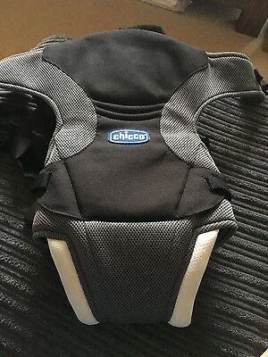 baby carrier sling black grey Chicco infant