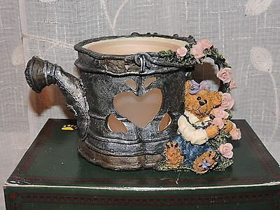 Boyds Bears & Friends Lydia.. Showers of Roses Votive Bearstone Coll. #27755 NEW