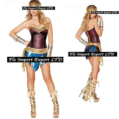 Wonder Woman - Vestito Carnevale Donna Dress up Wonder Woman Costume WOW002