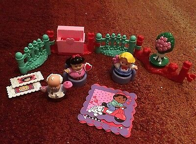 fisher price little people Valentines Set