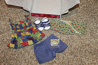 American Girl Julie's Patchwork Outfit Nib