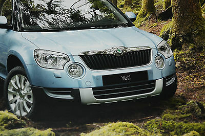 Skoda Yeti Brochure January 2012 - Mint Condition