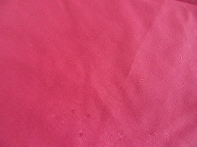 laura ashley vintage fabric 2m crushed strawberry 100%cotton