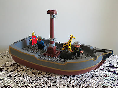 Lego Duplo No 7881 Big Pirate Ship Only (Floats In Water) Plus More Items