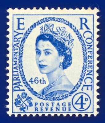 1957 SG560 4d 46th Inter-Parliamentary Union Conference Unmounted Mint (MNH)
