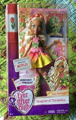 Ever After High Nina Thumbell Doll BNIB
