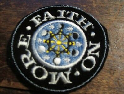 2   Rare 1993 FAITH NO MORE EMBRODERED PATCHES  my last 2 uncut