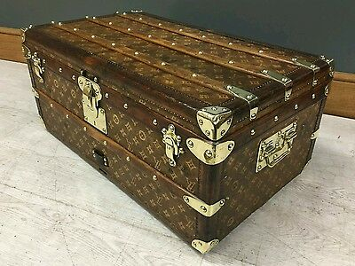 Louis Vuitton Monogram Woven Cabin Trunk