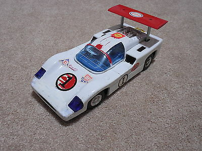 Chaparral, Japan Tin, Battery Operated, 1960's,