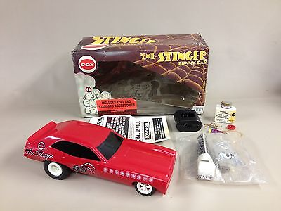 "Unused w/ Box Vintage Cox ""The Stinger"" Gas Powered Funny Car - .049 Engine"