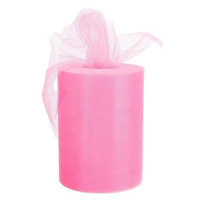CAMTOA 100 Yards 300FT Crystal Voile Tulle Roll For Dancing Skirt Dress Fabric 6