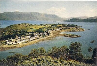 Superb Old Postcard -  Plockton - Loch Carron - Wester Ross - Ross-Shire C.1965