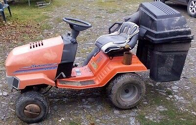 Husqvarna Lt 112 ride on mower, comes with spare engine