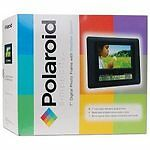 """Polaroid Digital Picture Frame XSA-00770S 7"""" With Weather Station Black"""