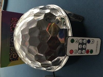 LED Party Disco Ball Light with Remote Control