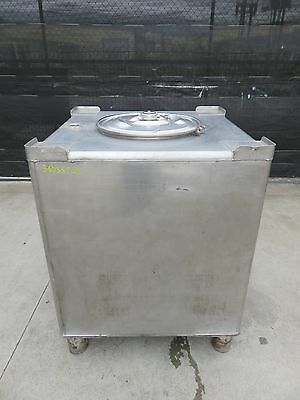 340 gallon stainless tote tank