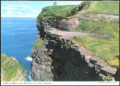 Postcard Cliffs of Moher near Lahinch Co Clare Ireland