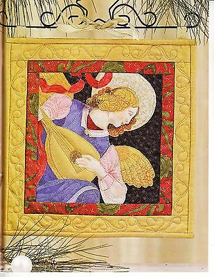 Christmas Angel Quilt Pattern Quilting Magazine, Keepsakes, Australian Patchwork