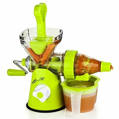 NEW! Manual Slow-Juicer Cold-Press, Camping, Outdoor