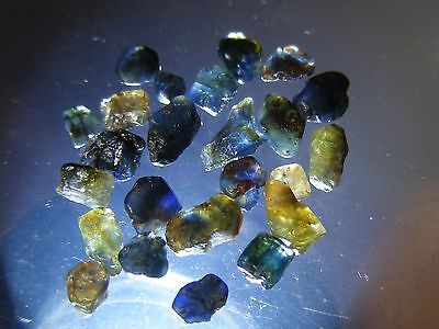 """ SPECIAL "" Australian Natural Rough Sapphires 10cts Gemstones Specimans"