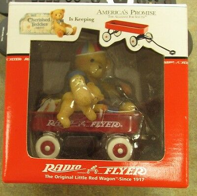 Radio Flyer Red Wagon With bear