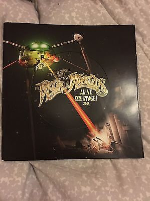 Signed War Of The Worlds 2014 Tour Programme
