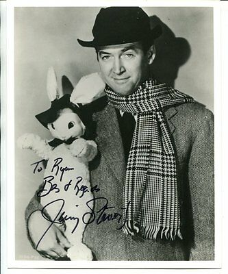 inscribed to Bill JIMMY STEWART Autograph HAND SIGNED 8 x 10 photo LOT 539