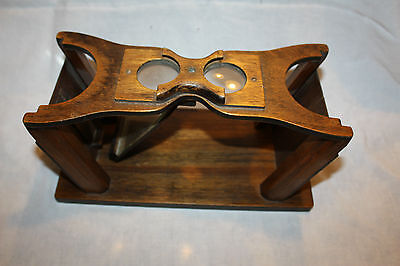 Antique Wood Picture or Slide Viewer - Very Rare