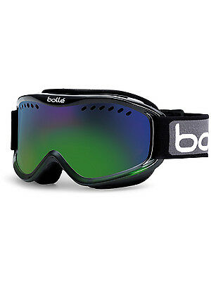 Bolle Ski Goggles Mens Womens Carve Goggles Black Snowboard Adult Skiing New