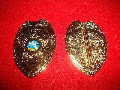 (1) Obsolete Dade County Florida Sheriff's Miami Vice Badge