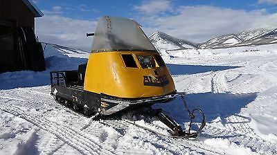 1977 skidoo alpine 640er, snowmobile