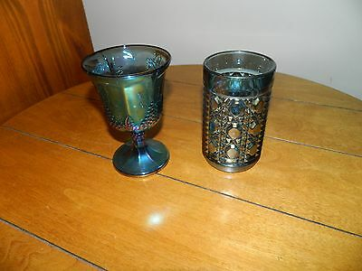 Vintage Carnival Glass Tumblers