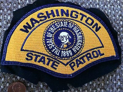 Authentic Washington WSP state highway patrol police patch