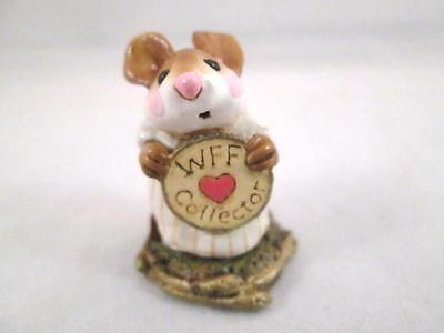 """Wee Forest Folk """"WFF Collector"""" EV-1998 Store Special Event Annette Petersen"""