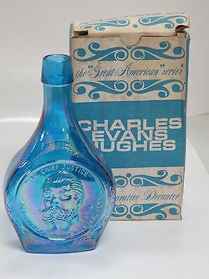 Wheaton Glass First Edition Commemorative Bottles- Charles Evans Hughes