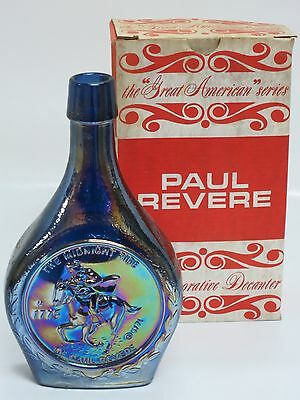Wheaton Glass First Edition Commemorative Bottles- Paul Revere