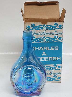 Wheaton Glass First Edition Commemorative Bottles- Charles A Lindbergh