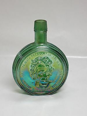 Wheaton Glass Vintage First Edition  Commemorative Bottles - Andrew Jackson