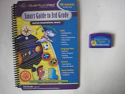 Quantum Pad Learning System Smart Guide To 3rd Grade LeapPad Book Ages 8 - 9