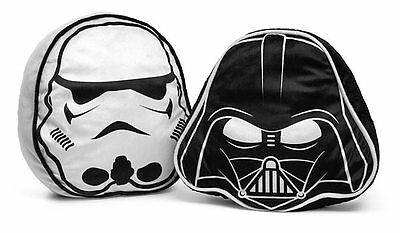 Star Wars Pillow Set - Darth Vader & Stormtrooper - DARTH & STORMTROOPER PILLOWS