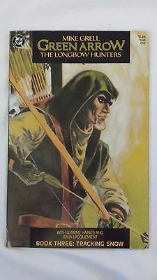 DC COMICS GREEN ARROW THE LONG BOW HUNTERS #3 BY MIKE GRELL VF or better